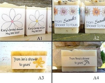 Personalized Labels, Bridal Shower, Baby Shower, Wedding Shower, Cigar Band, Soap Wrapper, Soap Wrap