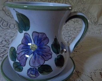 Pitcher and small bowl.  Made in Japan