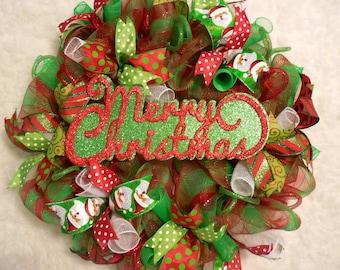 Marquee wreath, Christmas Marquee, Christmas Marquee wreath, Merry Christmas Wreath, Christmas, Christmas Wreath