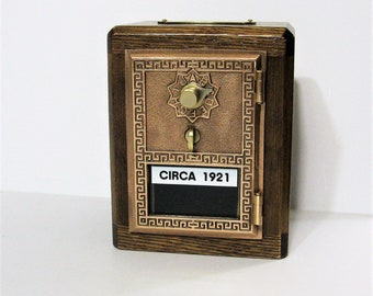 Post Office Box 1921 Door  Bank Combination Lock