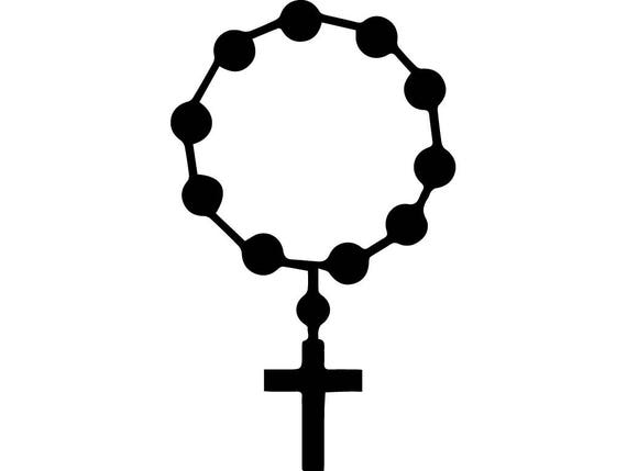 rosary prayer hand cross holy faith religion god belief hope person rh etsystudio com clipart of a rosary rosary border clip art