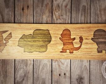 Who's that Pokemon? Woodblock Art