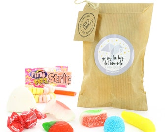 Assortment of sweets in small envelope for gluten-free communions (10 units)