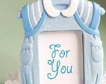 Baby clothing Blue Boy picture frame