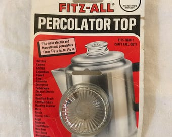 Fitz-All Percolator Top in Original Packaging Fits 13/16 to 1.5 inch
