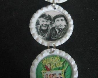 Classic Favorite TV Show Inside R/View Mirror ~ Gilligan's Island  ~ **Gift Idea