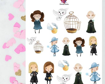 Wizards and Witches 3 /Deco / Planner Stickers