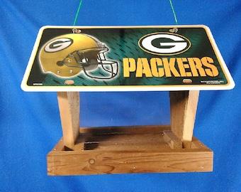 Green Bay Packers license plate bird feeder (LP-753/2)