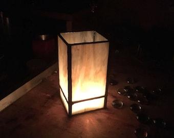 Morning Light; candle shade