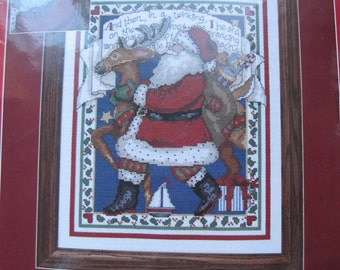 "Cross Stitch Kit - Christmas Traditions #359834 - In A Twinkling - 11"" x 14"" - NEW NIP"