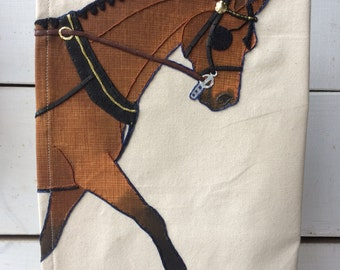The Tea Towel: Custom Driving Horse Edition- Functional Artwork for the Equestrian Home