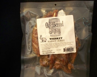 Whiskey Rabbit Jerky
