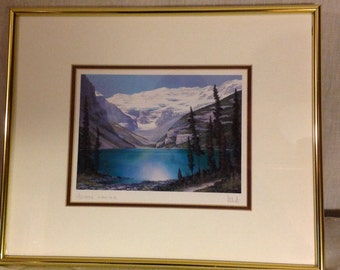 """Roger D. Arndt """"Across Louise""""  signed open edition"""