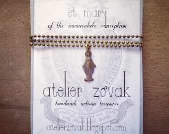 ST. MARY necklace