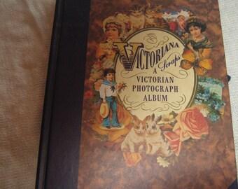 Vintage Edwardian, Victorian Photo Album.
