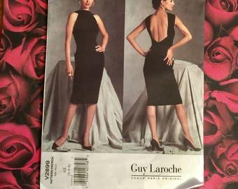 Vintage Vogue Sewing Pattern #2899 Size4-8