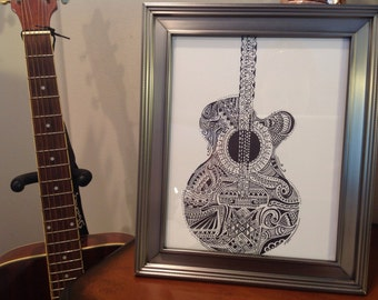 Custom Musical Instrument Wall Art