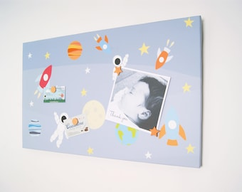 Space Man Magnetic Noticeboard