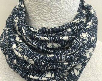 Made to Order Liberty of London Jersey Scarf in Helsketh