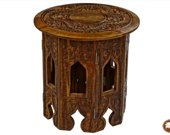 Corner table etsy corner table15 inch round table handmade watchthetrailerfo