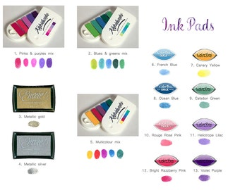 Ink Pad for Fingerprint Art!