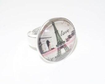 Cabochon (glass) Eiffel Tower Kit