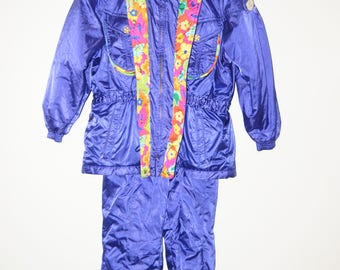 1990s Ski / Snow Bib Overalls and Jacket