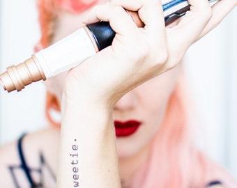 Hello Sweetie Temporary Tattoo