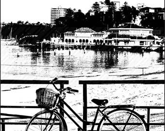 Manly Wharf - View to Aquarium