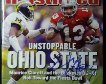 Maurice Clarett Signed Sports Illustrated December 2, 2002