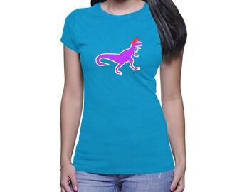 """Women's """"Girl Dinosaur"""" T-shirt"""