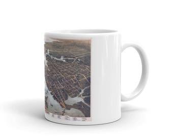 Coffee Mug - Norfolk and Portsmouth Virginia 1873