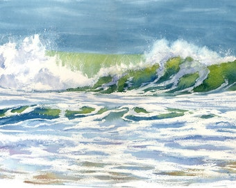 Cresting Wave giclee print