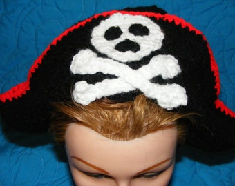 Crochet Pirate Hat