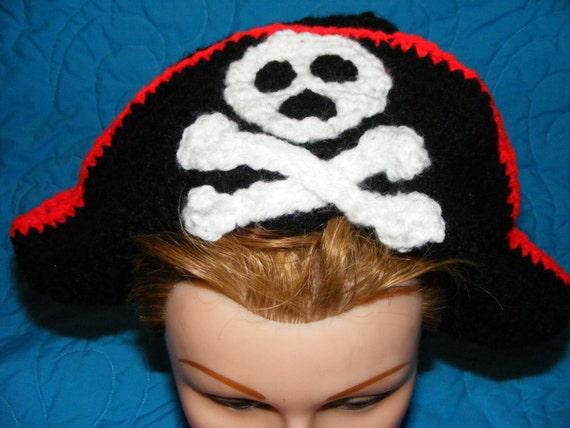 Piratenhut häkeln