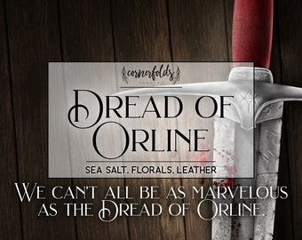Dread of Orline | Furyborn Inspired 4oz. or 8oz. Scented Soy Candle