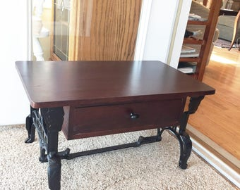 Delicieux Steampunk Coffee Table Treadle Sewing Machine