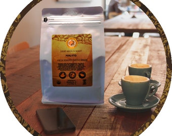 PERU Fair Trade Organic-MED/LIGHT Roast-Fresh Roasted| 12-32 oz |Whole or Ground | 10% goes to Charity(Intl Woman's Coffee Alliance)