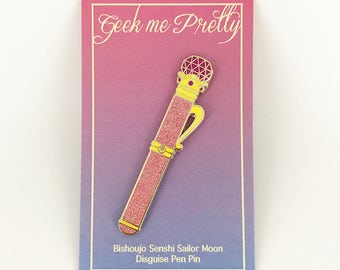 Sailor Moon Disguise Luna Pen Hard Enamel Pin