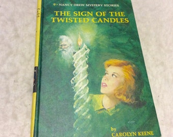 Nancy Drew Sign of the Twisted Candles 1968. NM