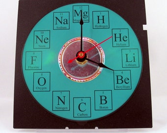 Periodic Table of Elements Desk Clock
