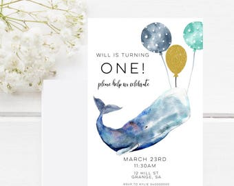 Whimsical invites Etsy