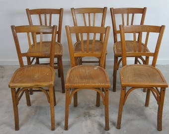 Vintage Luterma Bistro Chairs / Church Seating
