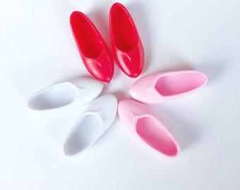 3 pares de zapatos Poppy Parker, Barbie, Blythe 1/6