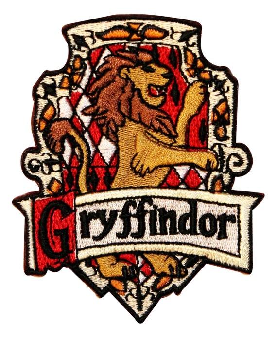 Gryffindor Hogwarts 39 House Crest Harry Potter Embroidered