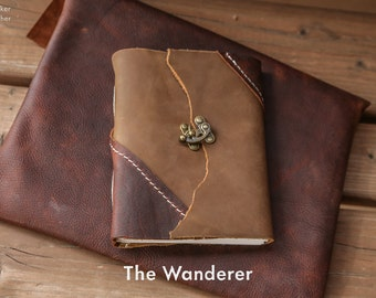 """The """"Wanderer"""" Leather Journal 