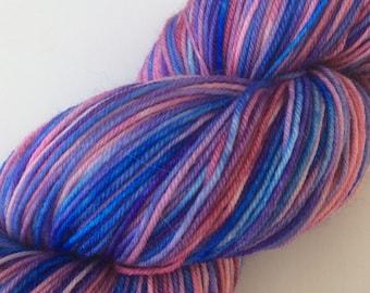 Is it a Boy or a Girl? - hand dyed yarn 3.5 oz 437 yds