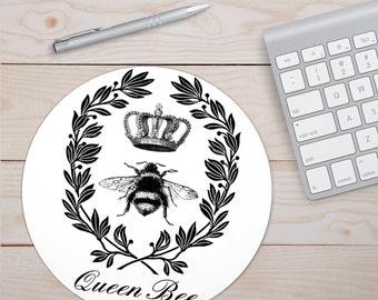 Queen Bee, Desk Accessories, Bee Queen, Bee Desk, Queen Desk, Queen Bee Accessories, Bee Accessories, Queen Accessories, Mouse Pads, Queen