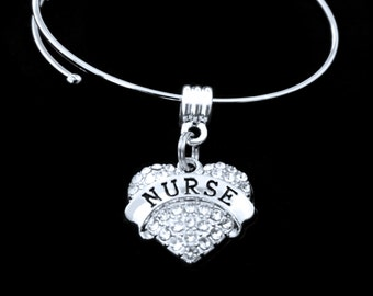 Nurse Bracelet Nurse charm bracelet Nurse Jewelry RN Bracelet LPN Bracelet