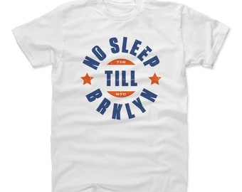 Brooklyn Shirt | Destinations & New York | Men's Cotton T-Shirt | No Sleep Till Brooklyn
